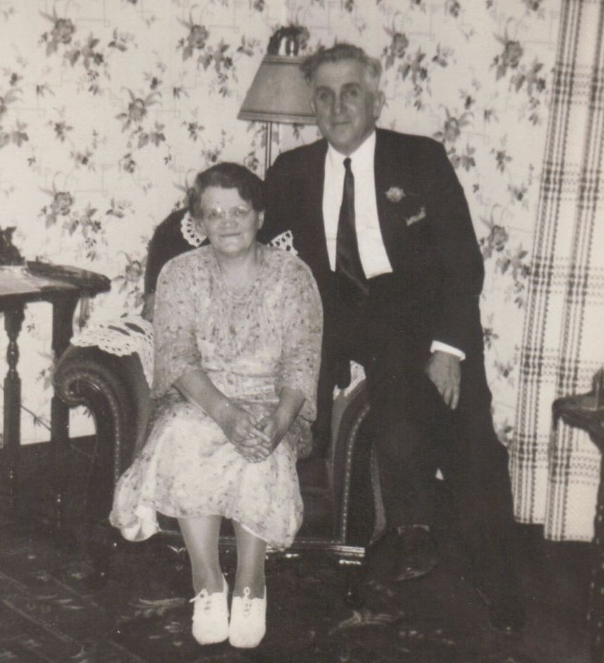 George and Lizzie Crane - George was the first pastor